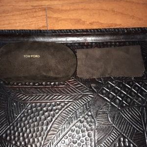 Authentic TOM FORD Eyeglass case and cloth